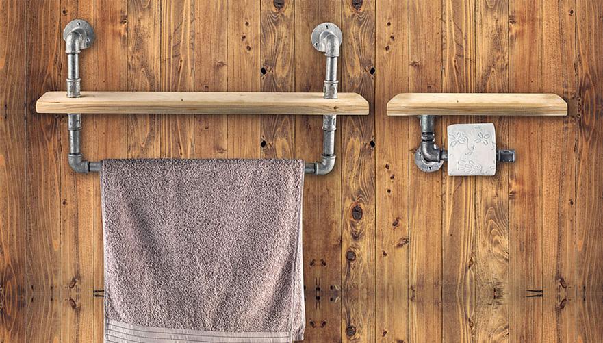 Držalo za brisačo ali WC papir