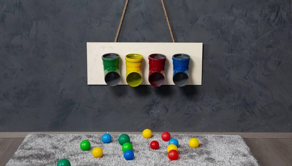 Montessori barvni tunelčki