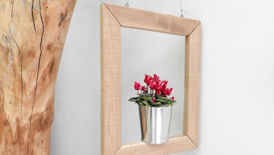 Okvir za cvetlični lonček
