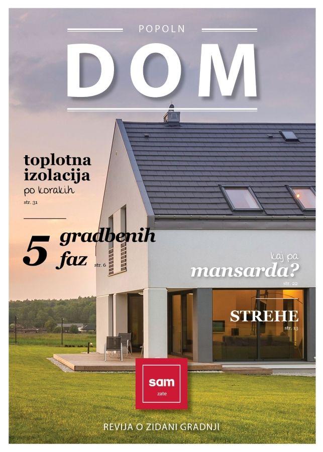 POPOLN DOM - revija o gradnji in obnovi doma