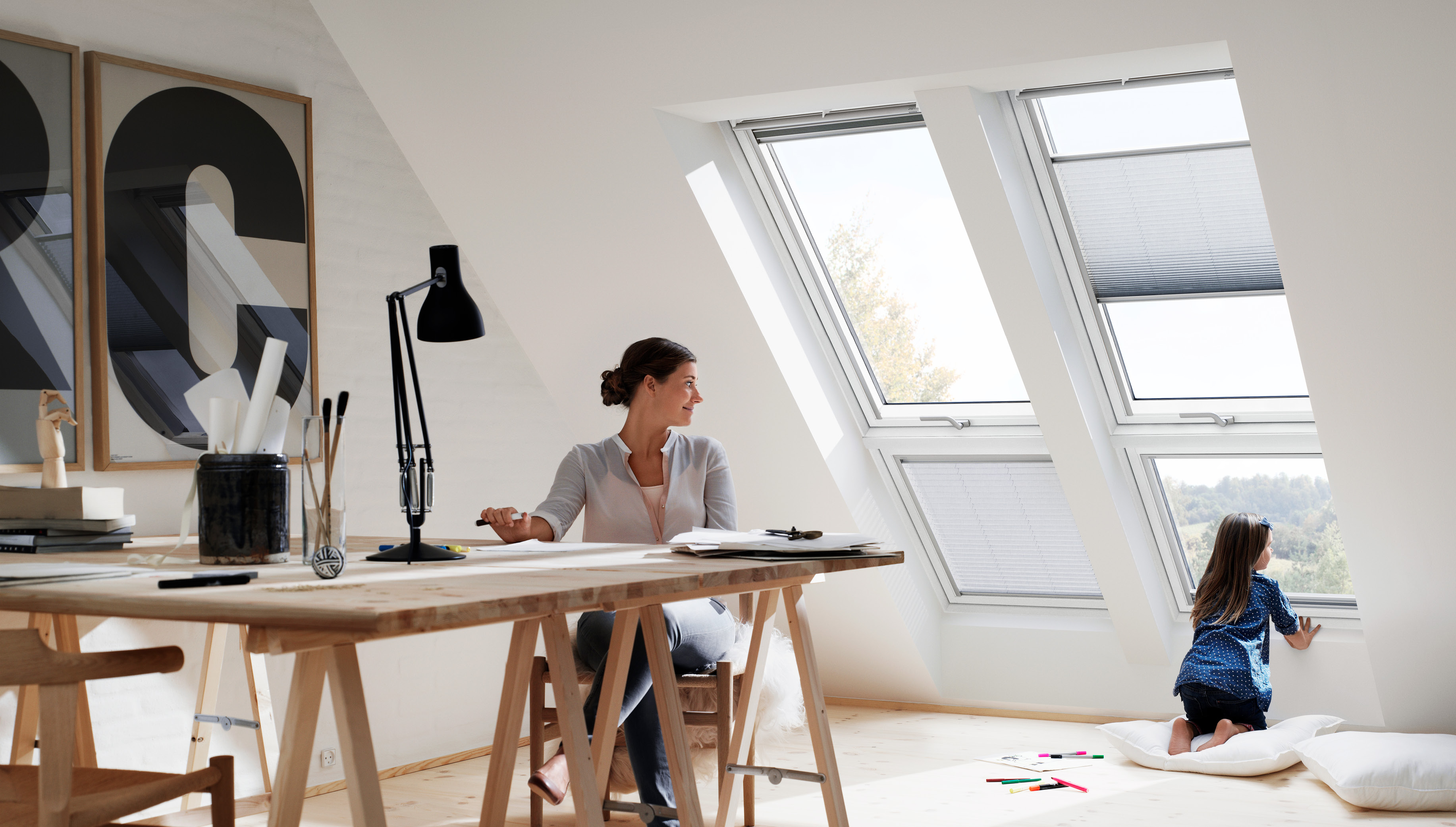 Strešna okna za razgiban in svetel dom